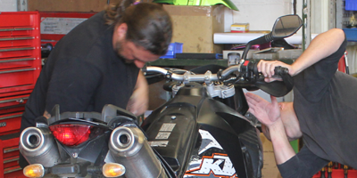 Motorbike Inspections at Clarendon Motorcycles